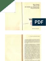 Los modos de producción precapitalistas. Capítulo 2