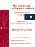 Marketing Mekong Eco Tourism to the World