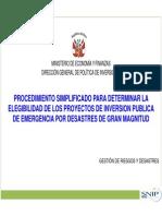 Mef-pip de Emergencia 2013