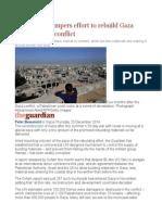 Corruption Hampers Effort to Rebuild Gaza After Summer Conflict