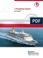 Diesel electric propulsion system