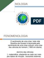 TSP NP2 Fenomenologia - Revisão