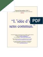 Jean-marie Tremblay__vincent Descombes --Idee Sens Cummun