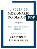o Poder Do Missionario Do Dia-A-dia Por Clayton m. Christensen- Sudbr