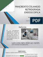 Pancreato Colangio Retrograda Endoscopica