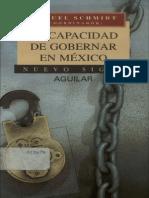 La Capacidad de Gobernar en Mexico