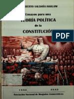 Ensayos Para Una Teoria Politica de La Constitucion