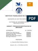 130973037 Unidad 5 Topicos de Investigacion de Mercados 131129122855 Phpapp01