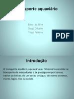 Transporte Aquaviário No Brasil Pronto4 Ulbra