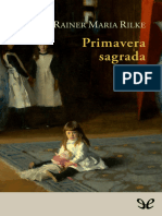 Rilke, Rainer Maria - Primavera Sagrada