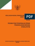 BNPB 15 Tahun 2012- Pusdalops