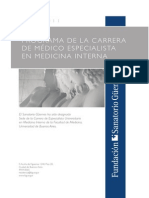 Carrera MedicinaInterna 2011