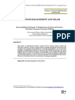EARNINGS MANAGEMENT AND ISLAM
