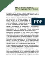 Logros Gob. Michelle Bachelet (2)