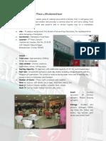 Case Study of Pantaloons Food Plaza at Bhubaneshwar