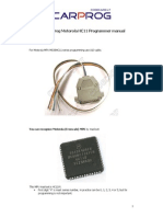 CARPROG Motorola HC11 Programmer Manual