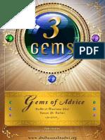 3 Gems of Advice