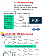 3.5 CMOS-TTL Interfacing