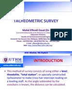 Week 9 Tacheometry Survey2