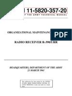 1165 R-390 Organizational Maintenance