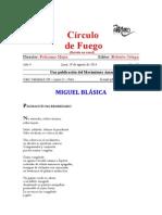 Miguel Blásica - Círculo de Fuego