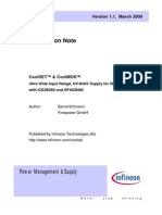 Infineon - Application Note - PowerMOSFETs - CoolSET Und CoolMOS - Ultra Wide Input Range, HV-BIAS Supply for SMPS