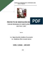 proyecto innovacion