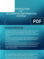 Introduction of GIS