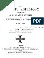 Raphael--Guide to Astrology-Genethliacal Astrology-GANN LIST AUTHOR