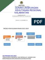 Pembangunan Lingkungan Hidup dan Kehutanan Regional Kalimantan