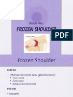 Lapsus Frozen Shoulder RM