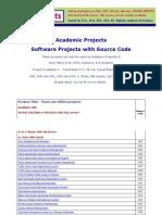 Rakshainfotech.com Academic Projects List