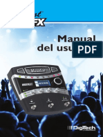 Vocalist Live FX Manual-Soanish Original