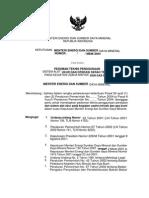 Draft Peraturan Menteri Energi Dan Sumber Daya Mineral Status 10 Juli 2008