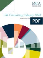 Uk Consulting Statistics 2014 Summary Brochure