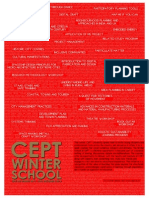 CEPT Winter School 2013 - Course Catalog