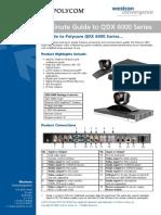 Polycom 5 Min Guide QDX6000