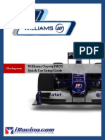 Quick Car Setup Guide Williams Toyota FW31