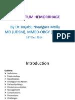 PPH by Dr. Rajabu Nyangara Mtilly.ppt