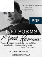Jack Kerouac, 100Poems ISBN 978-60-50-34116-4