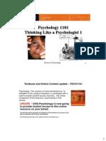 Thinking Like a Psychologist 1