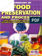 TECHNOLOGY OF FOOD PRESERVATION AND PROCESSING