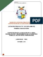 BASES_jecucion Carretera Pomalca