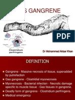 Gas Gangrene Dr Akbar