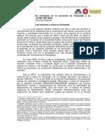 Carlos Enrique Guzmán Cárdenas Las industrias culturales en la economía de Venezuela y su contribución al PIB 1997-2002