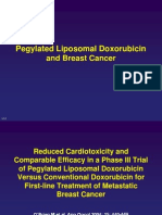 PLD in Metastatic Breast Cancer