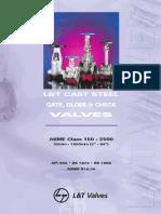 L&T Gate Globe Check Valves API 600