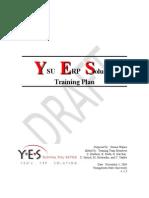 YSU ERP Training Plan