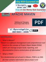 What is Java Apache Maven Build Tool