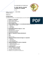 2008 Biologie Etapa Nationala Subiecte Clasa a XI-A 0